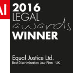 Equal Justice Ltd.-Legal Awards 2016 (FD160044) winners logo